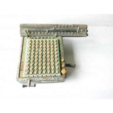 Ancienne machine a calculer MONROE