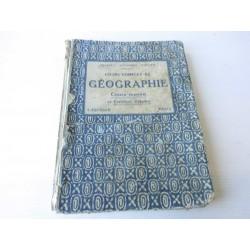 livre de géographie 1923 LAROUSSE