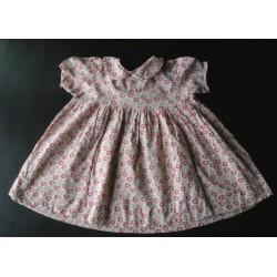 Robe ancienne fillette, années 50