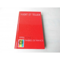 Catalogue de timbres Yvert et Tellier 1996 tome1