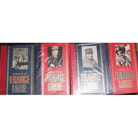 "Livres ""Histoire de la France Libre"" 4 volumes"