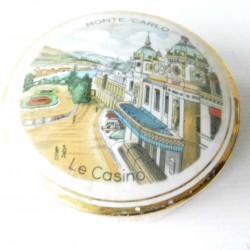 Boite à bijoux ancienne Limoges Casino Monte Carlo