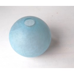Globe boule abat jour bleu, ancien