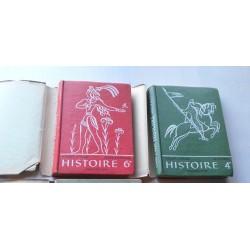 Livres anciens scolaires 2volumes