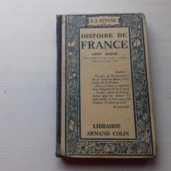 Livre scolaire HISTOIRE 1928 Lavisse