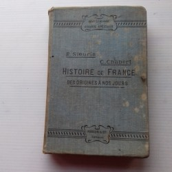 Livre scolaire HISTOIRE 1903 Sieurin Chabert