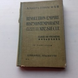 Livre scolaire HISTOIRE 1928 Malet Isaac