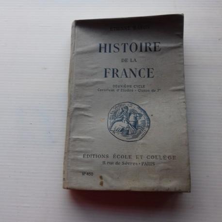 Livre scolaire HISTOIRE 1941 Baron