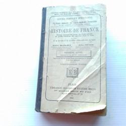 Livre scolaire Histoire de France 1886 Blanchet-Pinard