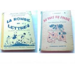 Livres de lecture Au pays du soleil et la Ronde des lettres