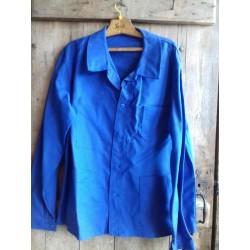 Veste bleu de travail  ancienne,   état neuf Taille 54