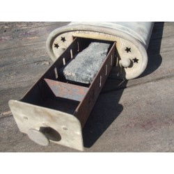 Braisière chaufferette ancienne de voiture 39 x 17 cm