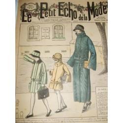 """Revue ancienne """"Petit Echo de la Mode""""1923"""