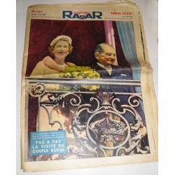 Magazine ancien Radar, Reine d'Angleterre 1957