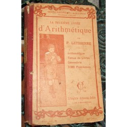 Livre scolaire d'arithmétique1904