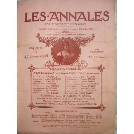 LOT de 64 revues littéraires les Annales 1900