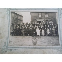 Photo ancienne de mariage, années 20-30