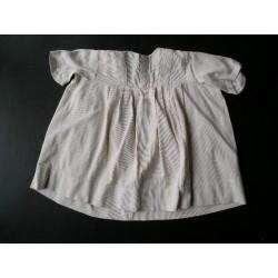 Robe blanche ancienne enfant-1950