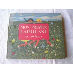 Livre ancien pour enfants,Mon premier Larousse en couleurs de  1953  33x28cm