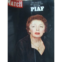 Paris Match -Piaf- 20 septembre 1969