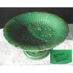 Coupe en céramique verte