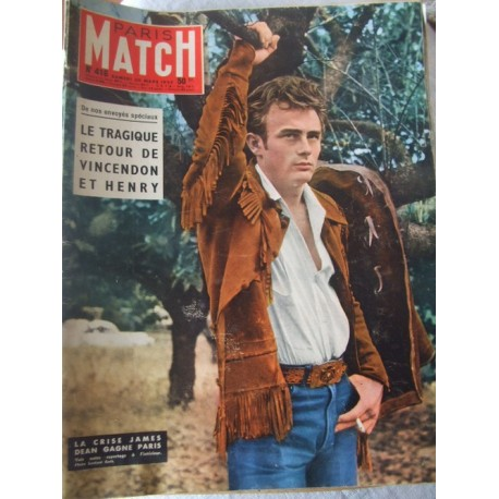 Paris Match N°416 James Dean