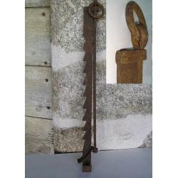 Crémaillère ancienne pour cheminée