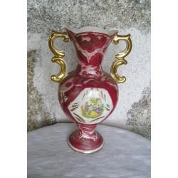 Vase rouge ancien, italien, Galdo Tadino
