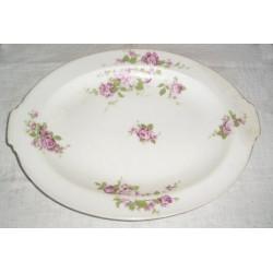 Plat ovale en porcelaine de Limoges