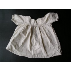 Robe blanche fillette années 50  taille ~4-5ans