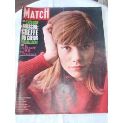 Paris Match -Françoise Hardy- 5 janvier 1963