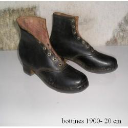 Bottines- galoches années 20, enfant
