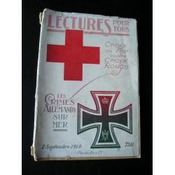 Revue ancienne Lecture pour tous 1918