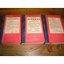 Livres anciens : Les Enigmes de la guerre de 70 et de la Commune3 volumes