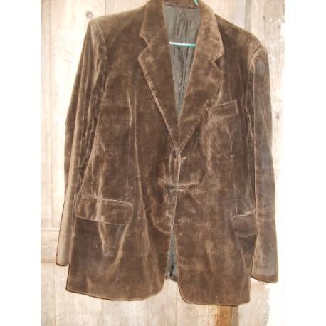Ancienne veste velours homme