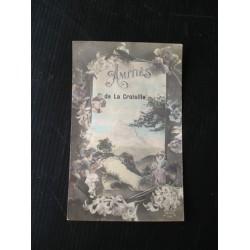 Carte postale ancienne , la Croisille