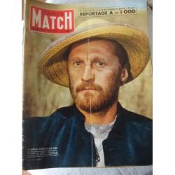 Paris Match -Kirk Douglas-Van Gogh- 1955