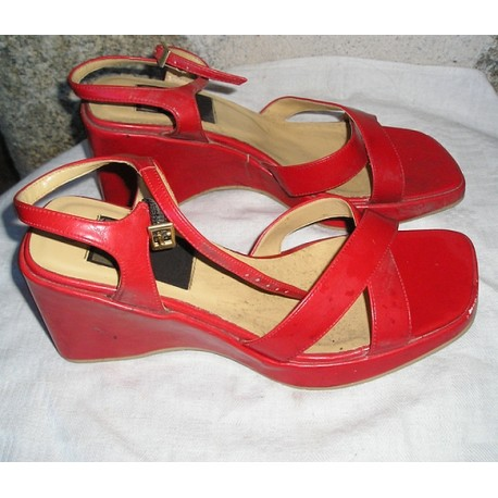 Chaussures Sarah Zanka T38, vintage