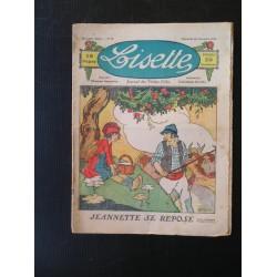 Revue ancienne Lisette N° 72 de 1922