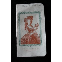 Carnet de pensées, femme, 1900