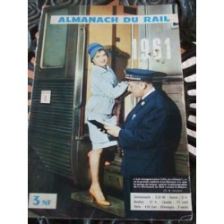 Almanach du rail 1961, complet