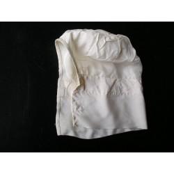 Bonnet-coiffe en tissu bébé , XIXè
