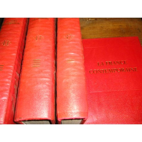 Encyclopédie historique la France contemporaine, 4 volumes