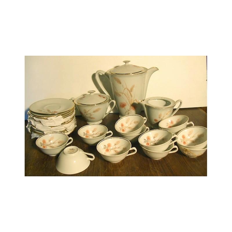ancien service caf pi porcelaine cn broc23. Black Bedroom Furniture Sets. Home Design Ideas