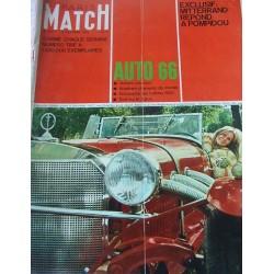 Paris Match -auto 1966-F.Dorléac-Mitterand-Pompidou