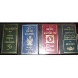 Livres de collection : Napoléon, 4 volumes