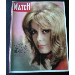 Paris Match -Catherine Deneuve - 1964