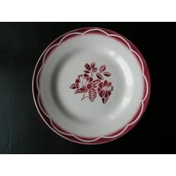 Assiette ancienne Digoin Marsac