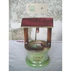Puits en céramique, tampon Bequet Belgique