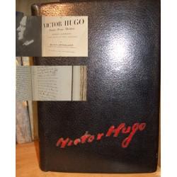 Livre ancien V.Hugo, Poésie, Prose , Théatre,cuir noir